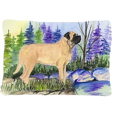 Caroline's Treasures Mastiff Indoor/Outdoor Throw Pillow