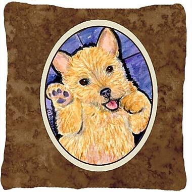 Caroline's Treasures Norwich Terrier Indoor/Outdoor Throw Pillow