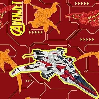 iCanvas Marvel Comics Avenjet Graphic Art on Canvas; 12'' H x 12'' W x 1.5'' D
