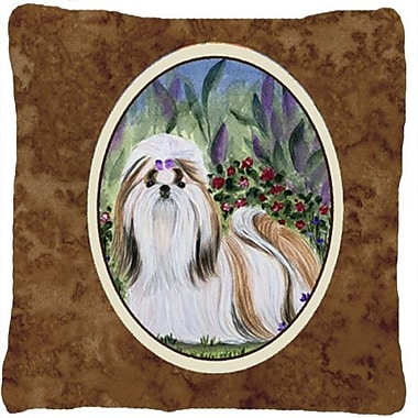 Caroline's Treasures Shih Tzu Indoor/Outdoor Throw Pillow