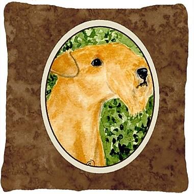 Caroline's Treasures Lakeland Terrier Indoor/Outdoor Throw Pillow