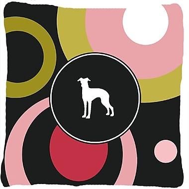 Caroline's Treasures Italian Greyhound Indoor/Outdoor Throw Pillow