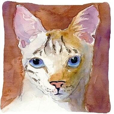 Caroline's Treasures Cat Indoor/Outdoor Throw Pillow