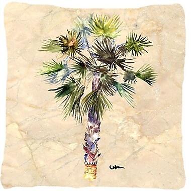 Caroline's Treasures Palm Tree Indoor/Outdoor Throw Pillow