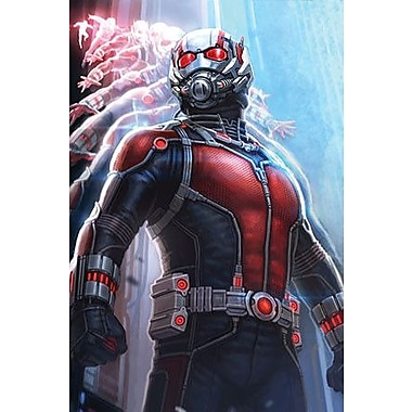 iCanvas Marvel Comics The Ant-Man Graphic Art on Canvas; 18'' H x 12'' W x 1.5'' D