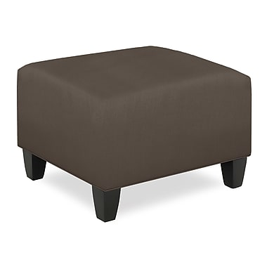Tory Furniture City Spaces Upholstered Club Ottoman; Truffle