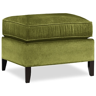 Tory Furniture City Spaces Ottoman; Grass