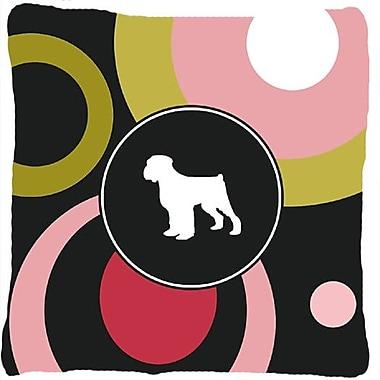 Caroline's Treasures Black Russian Terrier Indoor/Outdoor Throw Pillow