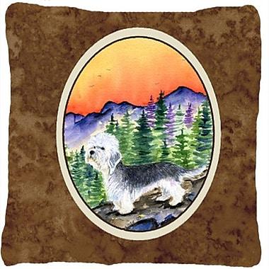 Caroline's Treasures Dandie Dinmont Terrier Indoor/Outdoor Throw Pillow
