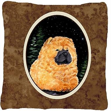 Caroline's Treasures Starry Night Chow Chow Indoor/Outdoor Throw Pillow