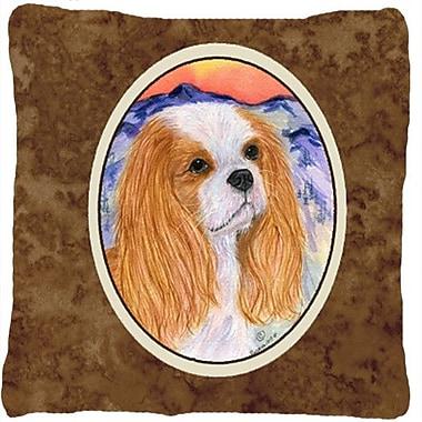 Caroline's Treasures Cavalier Spaniel Indoor/Outdoor Throw Pillow