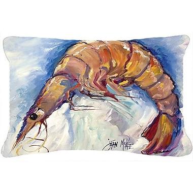 Caroline's Treasures Shrimp Indoor/Outdoor Throw Pillow