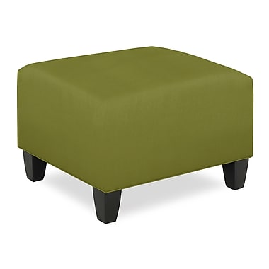 Tory Furniture City Spaces Upholstered Club Ottoman; Grass