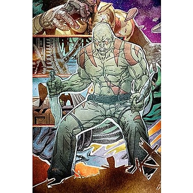 iCanvas Drax Collage by Marvel Comics Graphic Art on Canvas; 40'' H x 26'' W x 1.5'' D