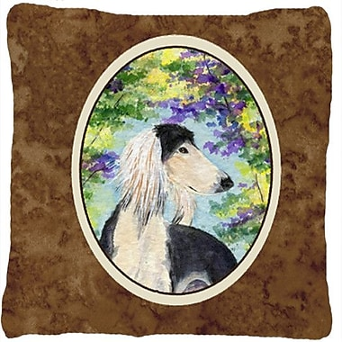 Caroline's Treasures Saluki Indoor/Outdoor Throw Pillow