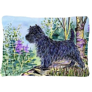 Caroline's Treasures Cairn Terrier Indoor/Outdoor Throw Pillow