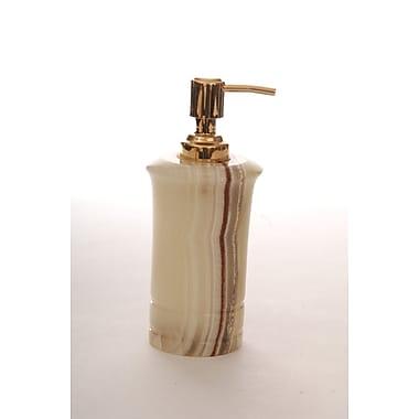 Lex Lighting Genuine Leather Soap / Lotion Dispenser