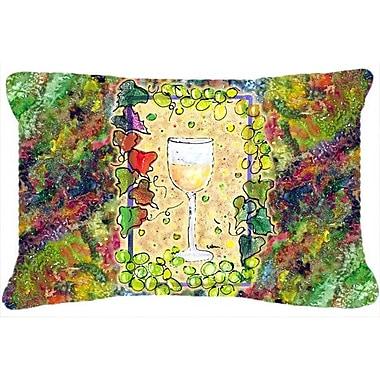 Caroline's Treasures Wine Indoor/Outdoor Throw Pillow