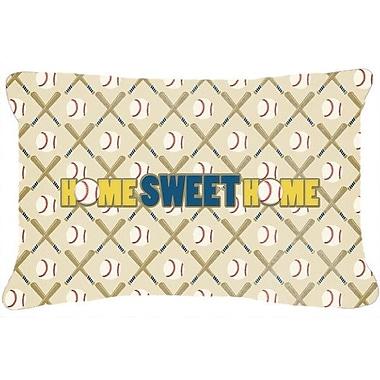 Caroline's Treasures Home Sweet Home Indoor/Outdoor Throw Pillow