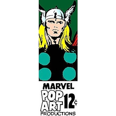 iCanvas Marvel Comics Thor B PriceTag Panoramic Graphic Art on Canvas; 36'' H x 12'' W x 0.75'' D