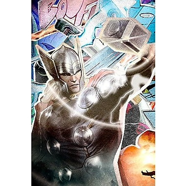 iCanvas Marvel Comics Thor Collage Graphic Art on Canvas
