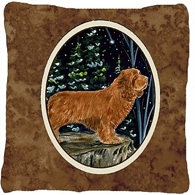 Caroline's Treasures Sussex Spaniel Indoor/Outdoor Throw Pillow