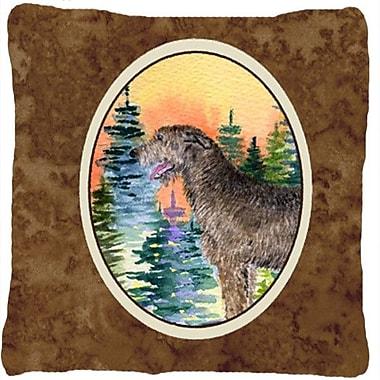 Caroline's Treasures Irish Wolfhound Indoor/Outdoor Throw Pillow