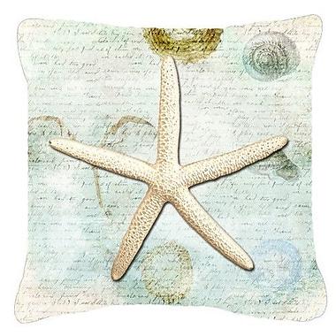 Caroline's Treasures Starfish Indoor/Outdoor Throw Pillow; 18'' H x 18'' W x 5.5'' D