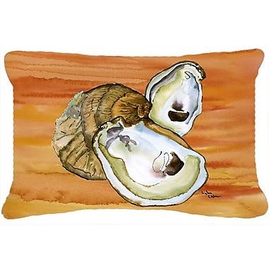 Caroline's Treasures Oyster Indoor/Outdoor Throw Pillow