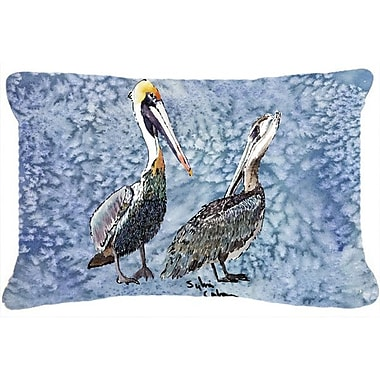 Caroline's Treasures Pelican Indoor/Outdoor Throw Pillow
