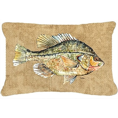 Caroline's Treasures Croppie Indoor/Outdoor Throw Pillow