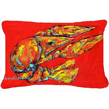 Caroline's Treasures Reach for The Claws Indoor/Outdoor Throw Pillow