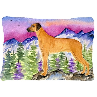 Caroline's Treasures Rhodesian Ridgeback Indoor/Outdoor Throw Pillow