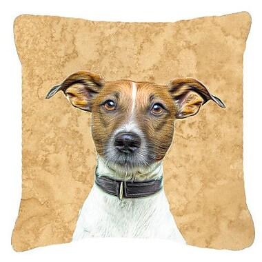Caroline's Treasures Yorkie/ Yorkshire Terrier Indoor/Outdoor Throw Pillow; 14'' H x 14'' W x 4'' D