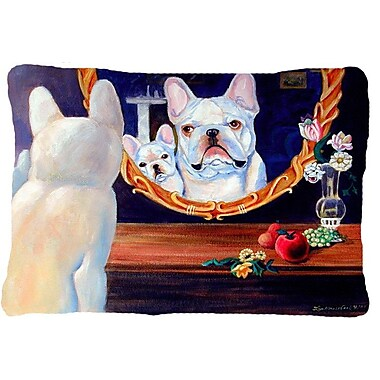 Caroline's Treasures French Bulldog Indoor/Outdoor Throw Pillow