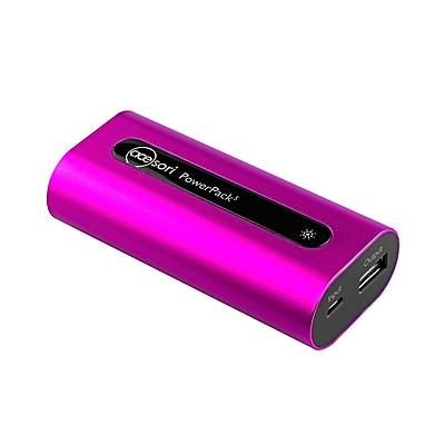 LG Powered Acesori PowerPack5 5200mAh Battery Charger, Rose Pink (A-PPK5-PNK)