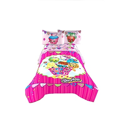 Shopkins - Couette pour lit simple/double