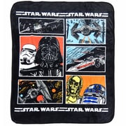 Star Wars Classic Fleece Throw