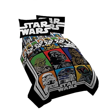 Star Wars - Ensemble de draps Classic, lit simple