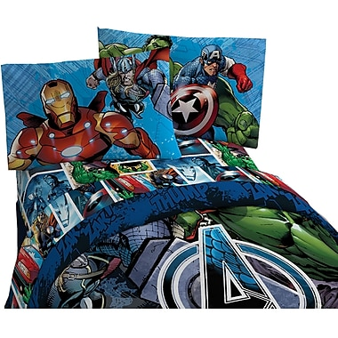 Avengers Assemble Twin Sheet Set