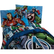 Avengers - Ensemble de draps Assemble, lit simple