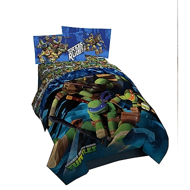 TMNT - Couette Dark Ninja pour lit simple/double