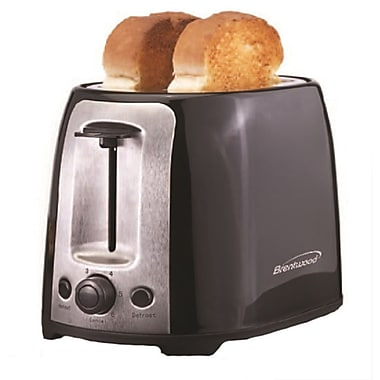 Brentwood TS-292B 2-Slice Cool Touch Toaster, Black (93591231M)