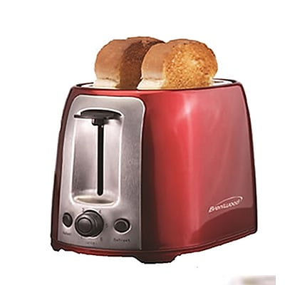 Brentwood Two-Slice Cool-Touch Toaster, Red (93591232M)