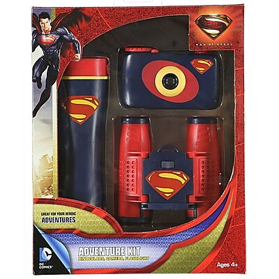 DC Comics Man of Steel 3-Piece Adventure Kit (93591850M)