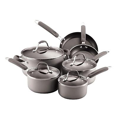 Farberware 10-Piece Cookware Set, Silver (93591359M)