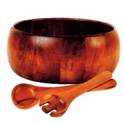 Gibson Wood Three-Piece Salad Set (93586511M)