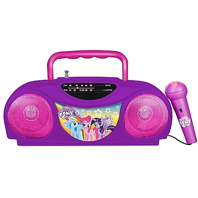 My Little Pony 13357 Radio Karaoke Kit, Pink