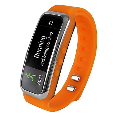 Supersonic SC-61SW-OR PowerX Fitness/Smart Band, Orange, 0.91