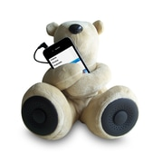 S-T1-B Portable Teddy Speaker for iPod, iPhone, Smartphone, MP3 and Media Player - Beige